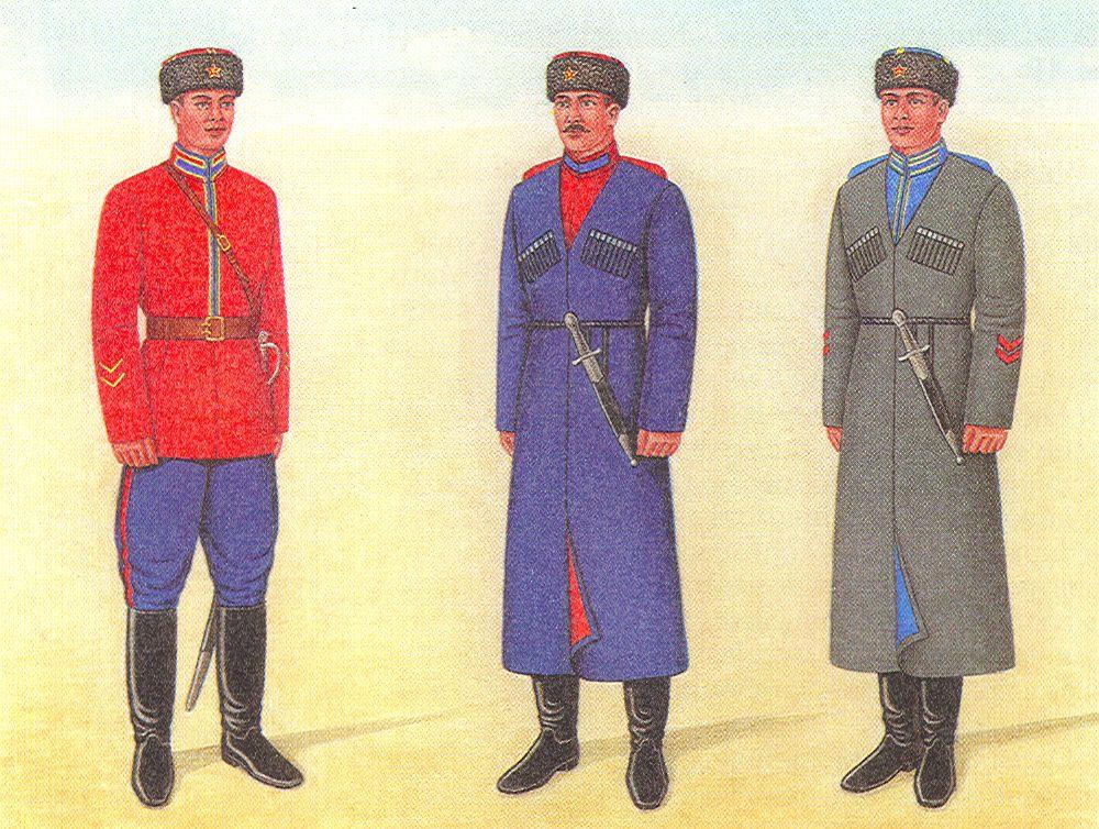 Форма казаков в Великую отечественную войну 1941-1945 ...