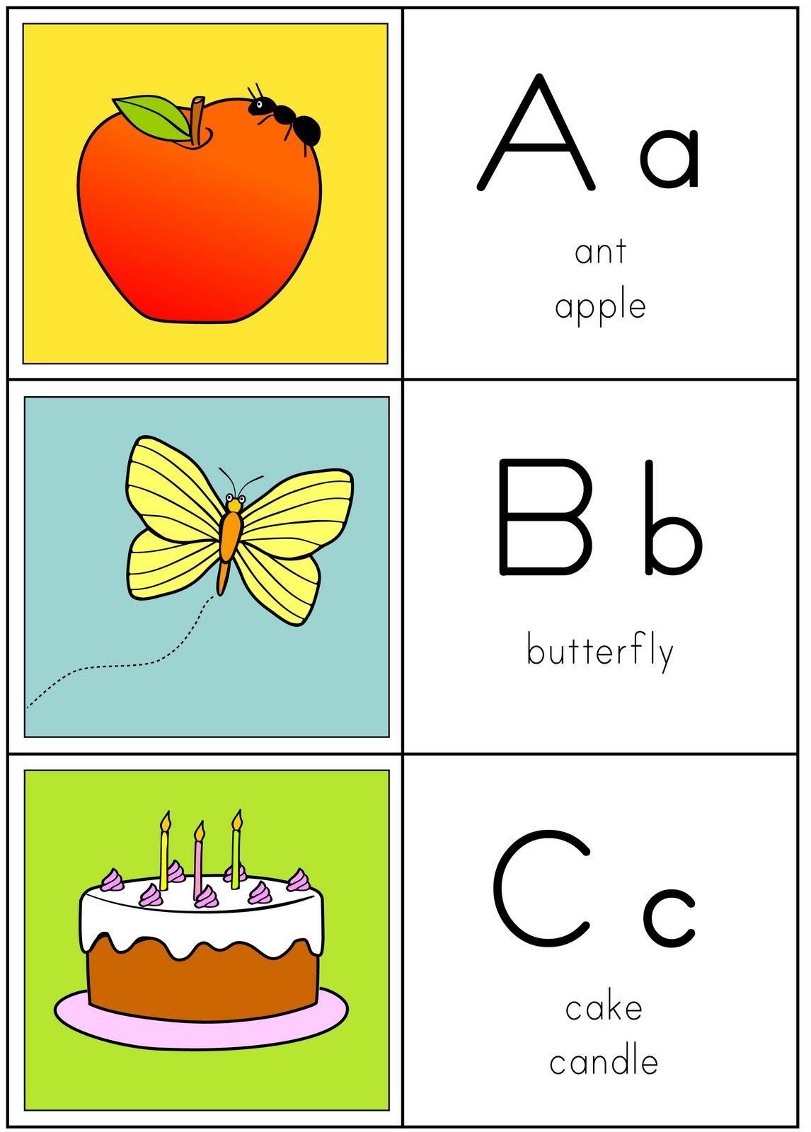 Resultado De Imagem Para Alfabeto Ilustrado Em Ingles