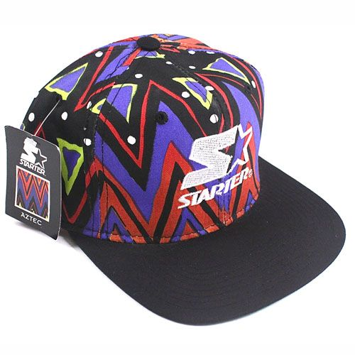 Need this in my life ! Vintage Starter Aztec snapback hat NWT Jazzy ... ffb6bb40a8965