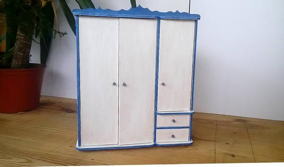 Wardrobe for Barbie Barbie furniture Barbie furniture handmade Lovely wooden barbie furniture Dollhouse miniatures Birthday daughter #barbiefurniture