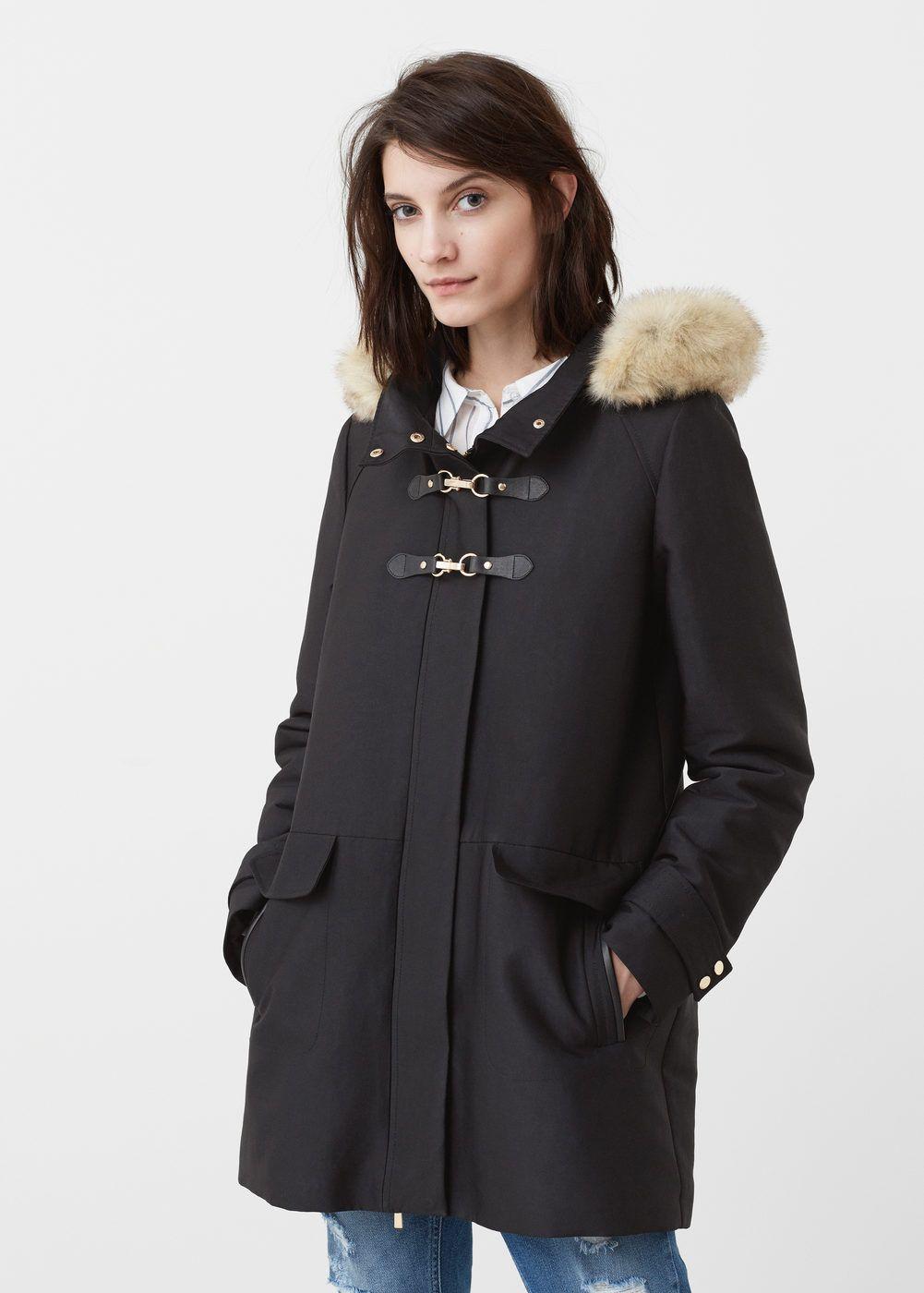 disfruta del precio de descuento reunirse productos de calidad Parka acolchada capucha - Mujer | Cosas para ponerme ...