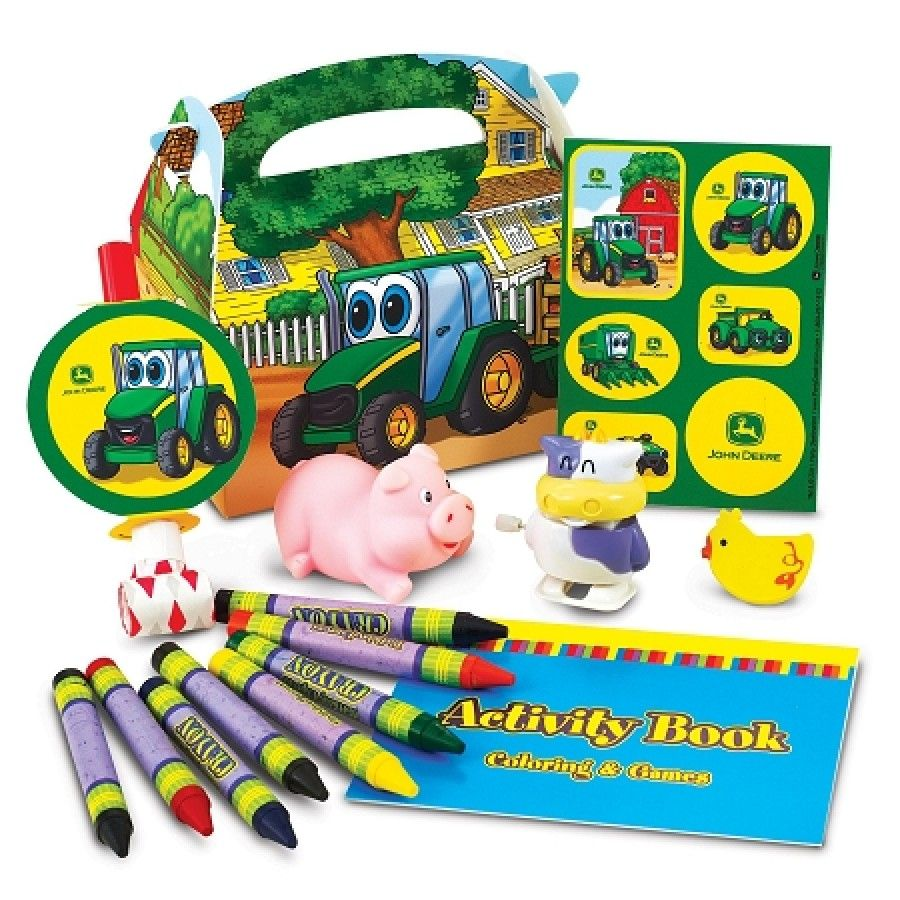 John Deere Johnny Tractor Favor Box 209025 | Tractor, Favors and ...