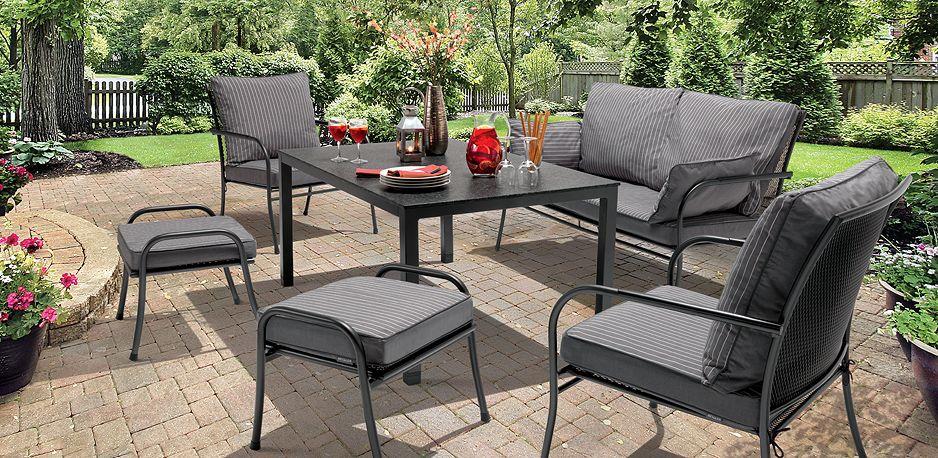Kettler Malaga with Slate Cushions, looks good!   Garden Furniture ...