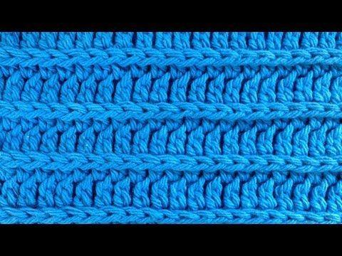 Crochet Royal Ridge Stitches - Free Dishcloth Pattern - YouTube ...