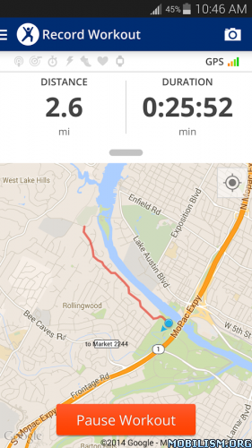 MapMyFitness Workout Trainer VRequirements Overview Map - Map run distance free