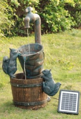 Superbe Solar Garden Fountains | Site For Everything