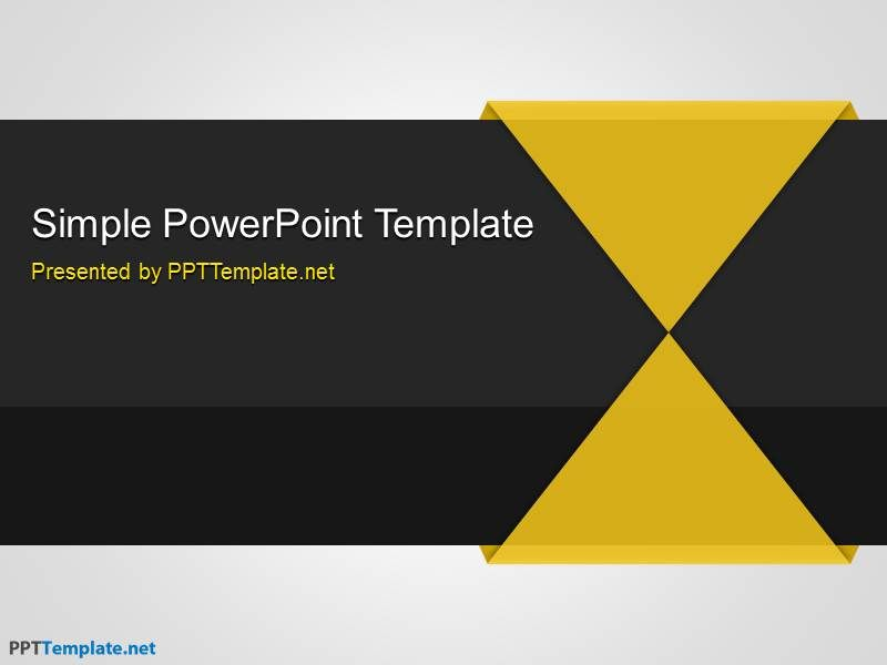 0001 simple powerpoint template 3 places to visit pinterest a simple background that combines blue black and gray the free simple ppt template has a generic style useful for most powerpoint presentations mac and toneelgroepblik Choice Image