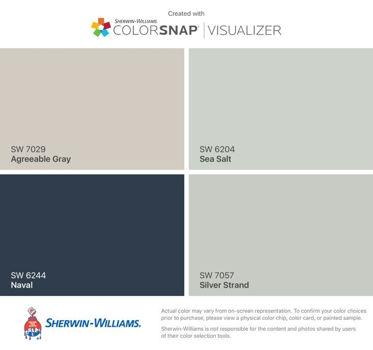 Does Denim Accent Wall Color Go With With Agreeable Gray: Image Result For Sherwin Williams Sea Salt Kitchen
