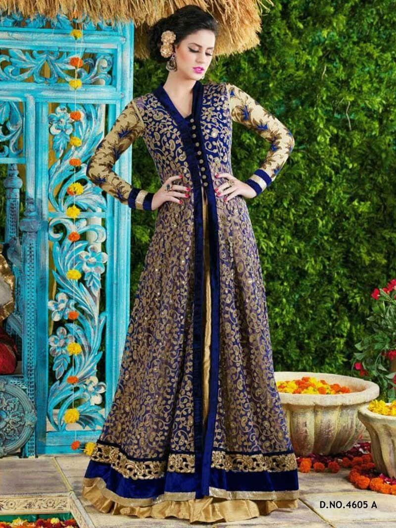 aaddbe9e5f Huge range of pakistani style anarkali suites. Best price on Indian heavy  work Anarkali Lehenga. Party Wear Dresses ...