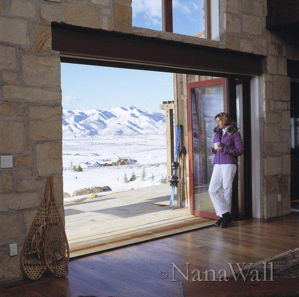Love This Nana Wall #nanawall #interiordesign #architecture