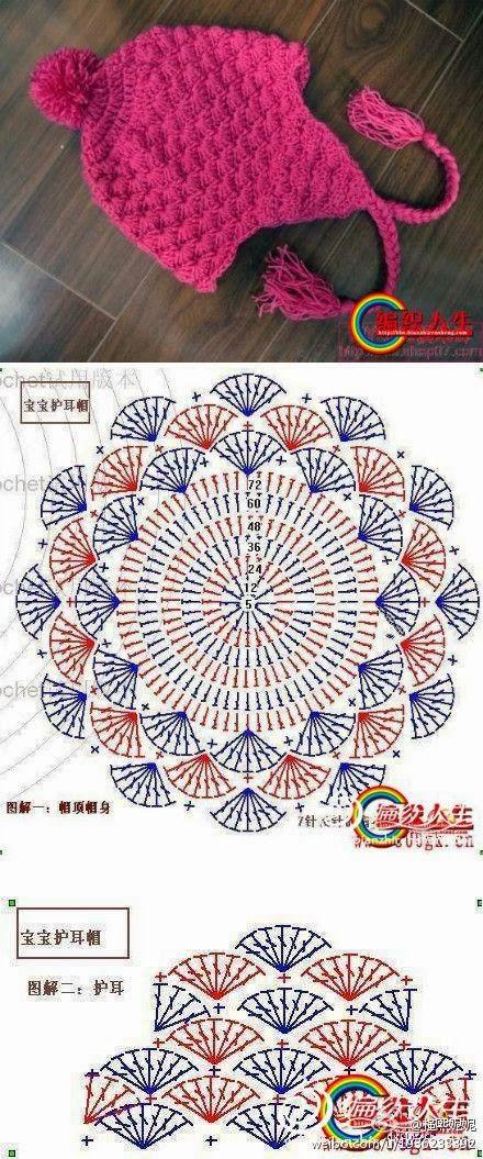 aprender a tejer | puntos | Pinterest | Gorros, Tejido y Gorros crochet