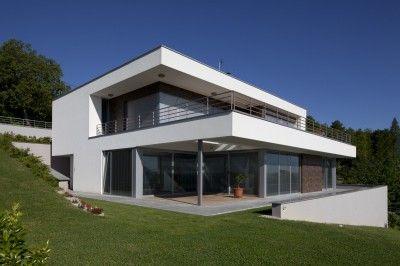 maison moderne à toit plat   Dream houses   Pinterest ...