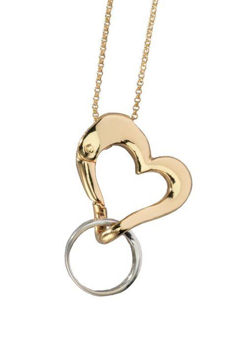 Keeps On Ringing: Keep Safe™ Ring Holder -$29