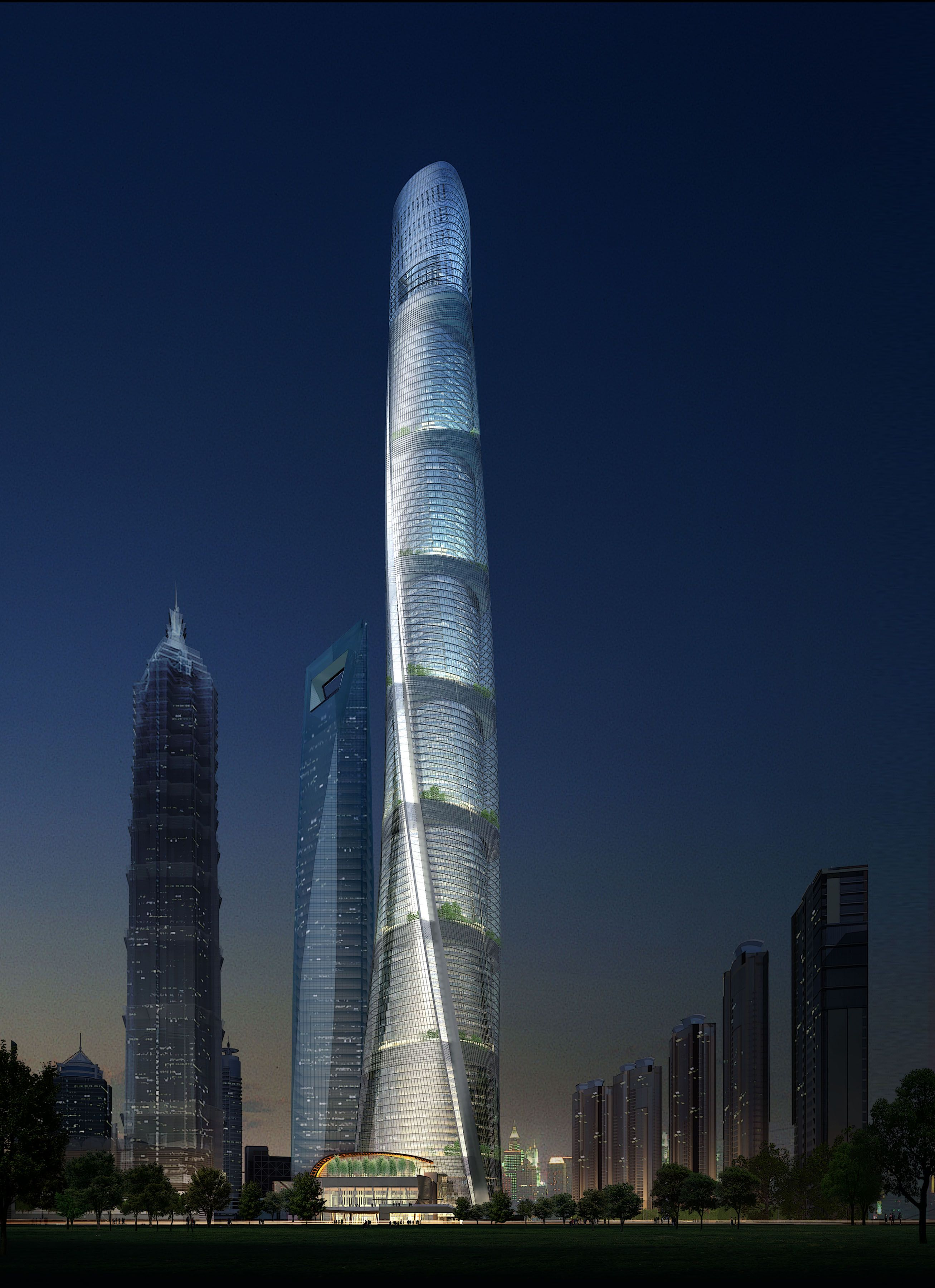 Sustainable Buildings Shanghai Tower China