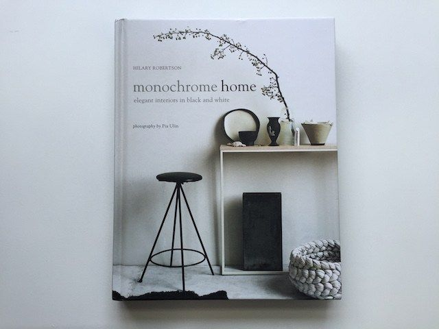 Book review Monochrome home by Hilary Robertson C-More Interieur