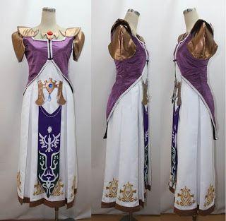 makura Womenu0027s The Legend of Zelda Princess Zelda dress(M) & Costume Ideas for Women: Top Legend of Zelda Costumes and Cosplay ...