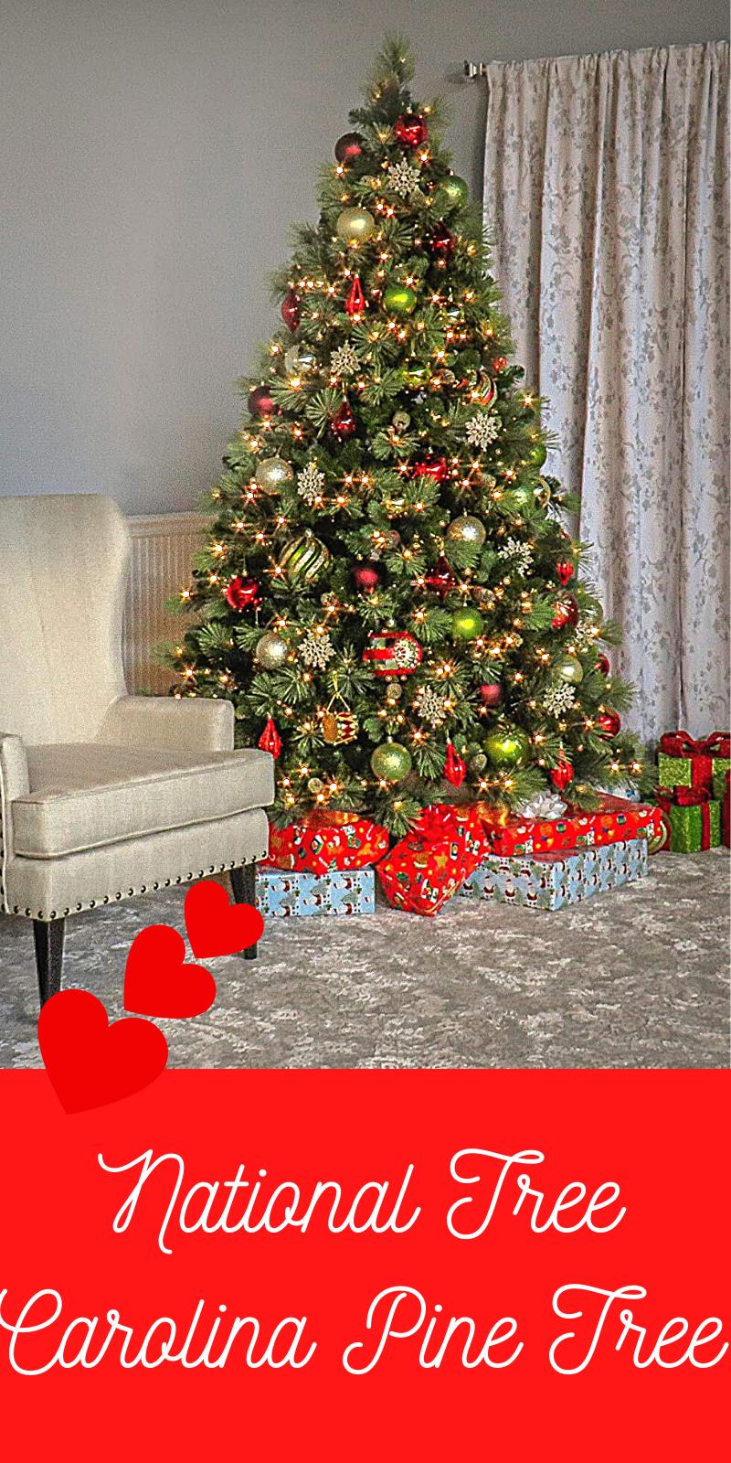 National Tree Carolina Pine Tree Christmas Tree Ideas 2020 Christmas Tree Decorations Tree Christmas Tree