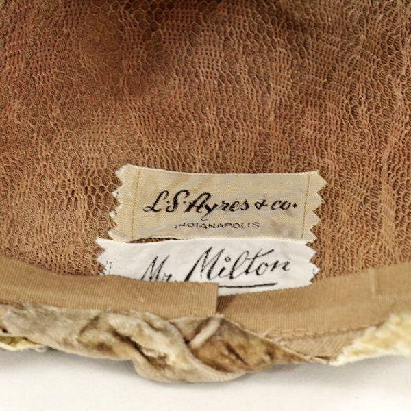L S Ayres Co Mr Milton Vintage Labels Vintage Hats Vintage