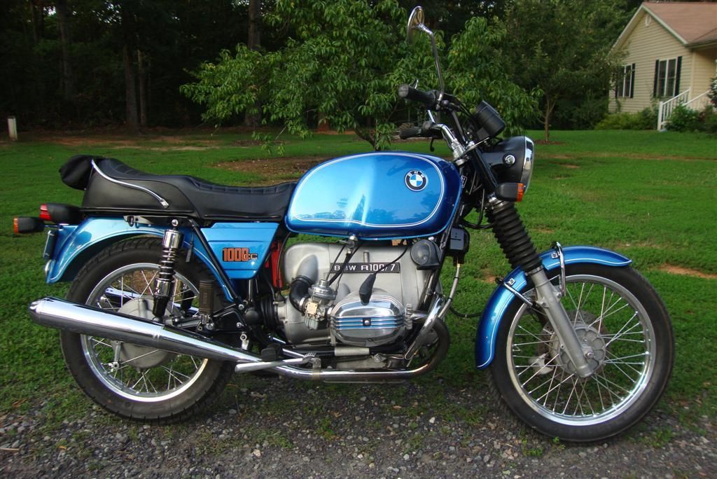 randy 39 s cycle service restoration 1977 bmw r100 7 two. Black Bedroom Furniture Sets. Home Design Ideas