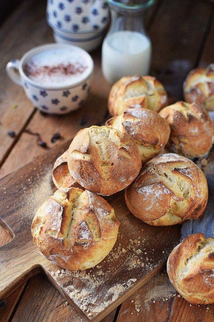 Photo of Kartoffel-Dinkel-Brötchen: Frühstück