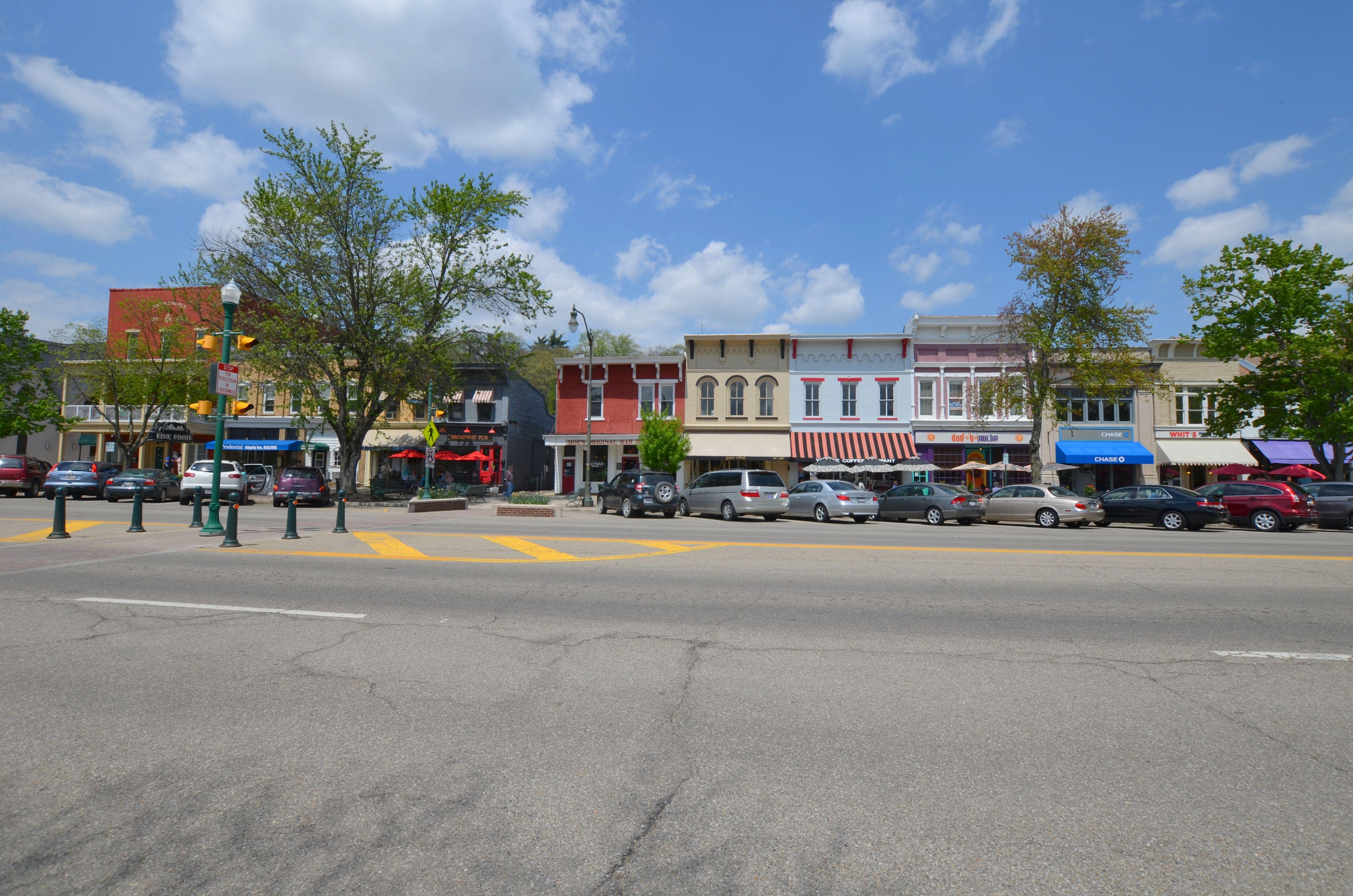 Granville Granville Village Historical Architecture