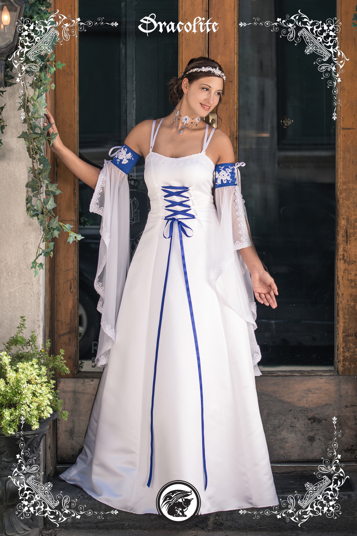 Begotten royal medieval wedding gown Viking dress, Gowns