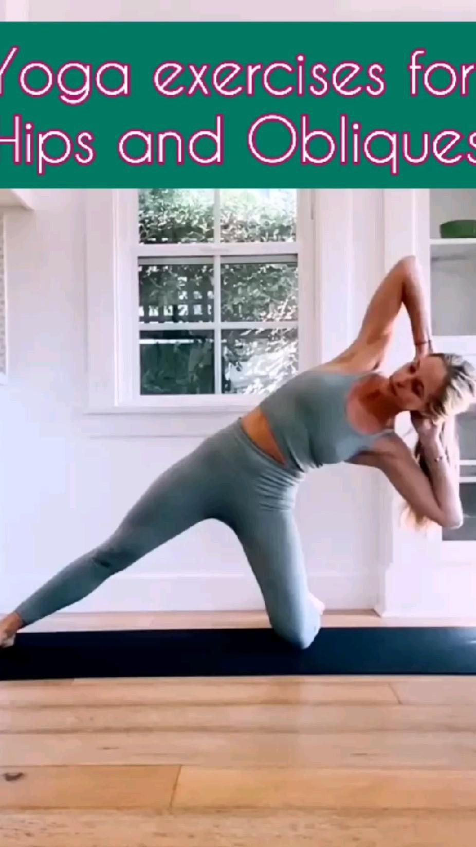 Yoga Exercises For Hips and Obliques