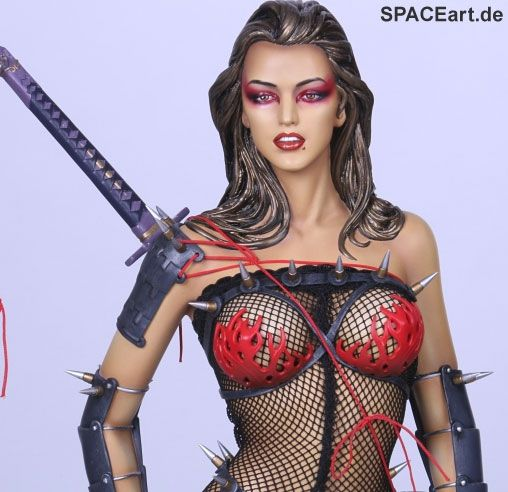 Hajime Sorayama: Lady Ninja, Statue ... http://spaceart.de/produkte/hms006.php
