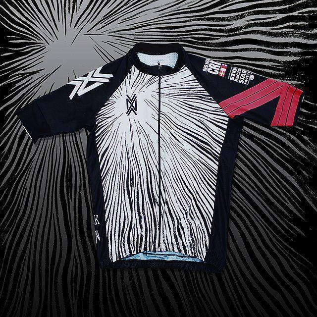 The NVAYRK X Kraken cycling kit