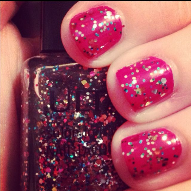 Essie- Very Cranberry & ULTA Piñata Yada Yada | nails | Pinterest
