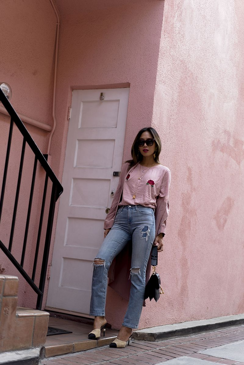 aimee_song_of_style_two_songs_pink_rose_titty_tee_ag_alexa_chung_jeans