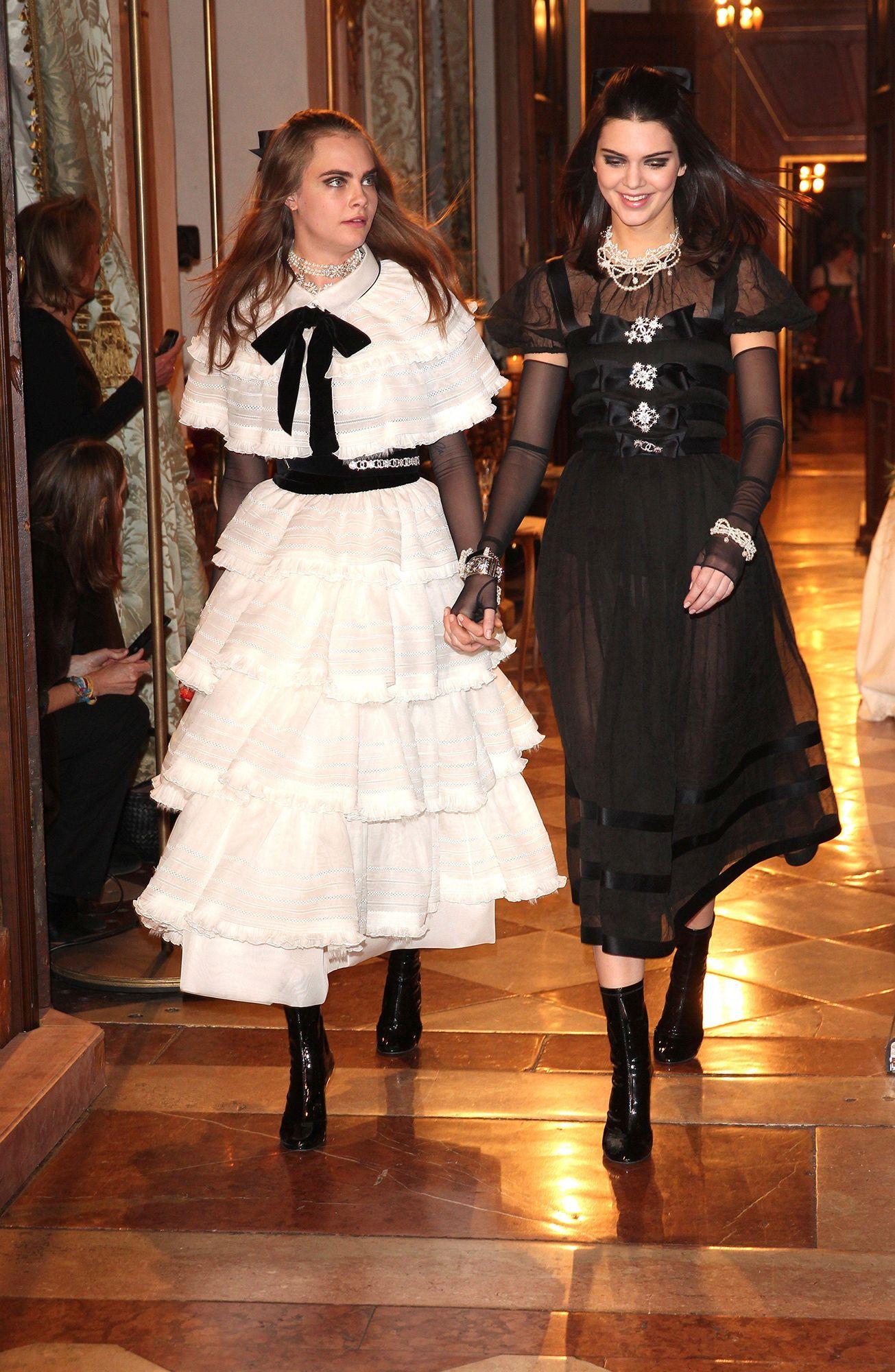 Chanel in Salzburg - Cara Delevingne and Kendall Jenner