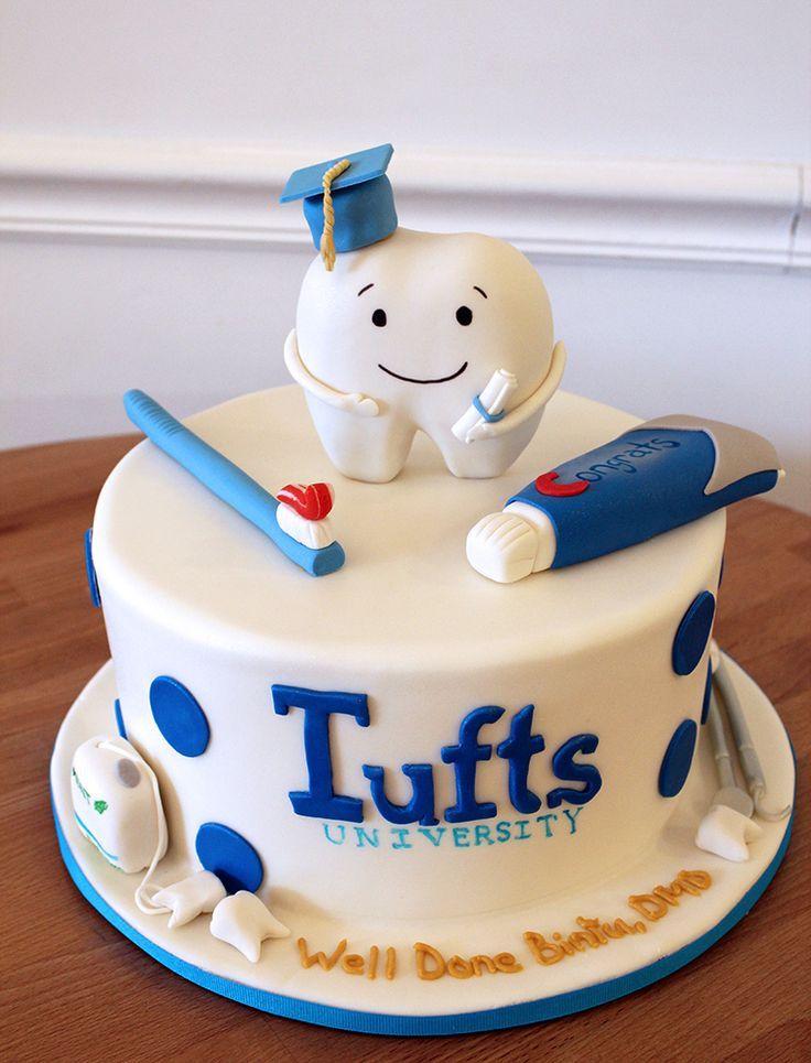 Dental School Graduation Cake Dentist Financial Tips Student
