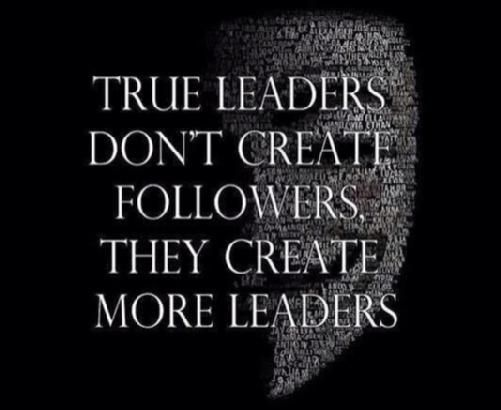 Inspire others to lead