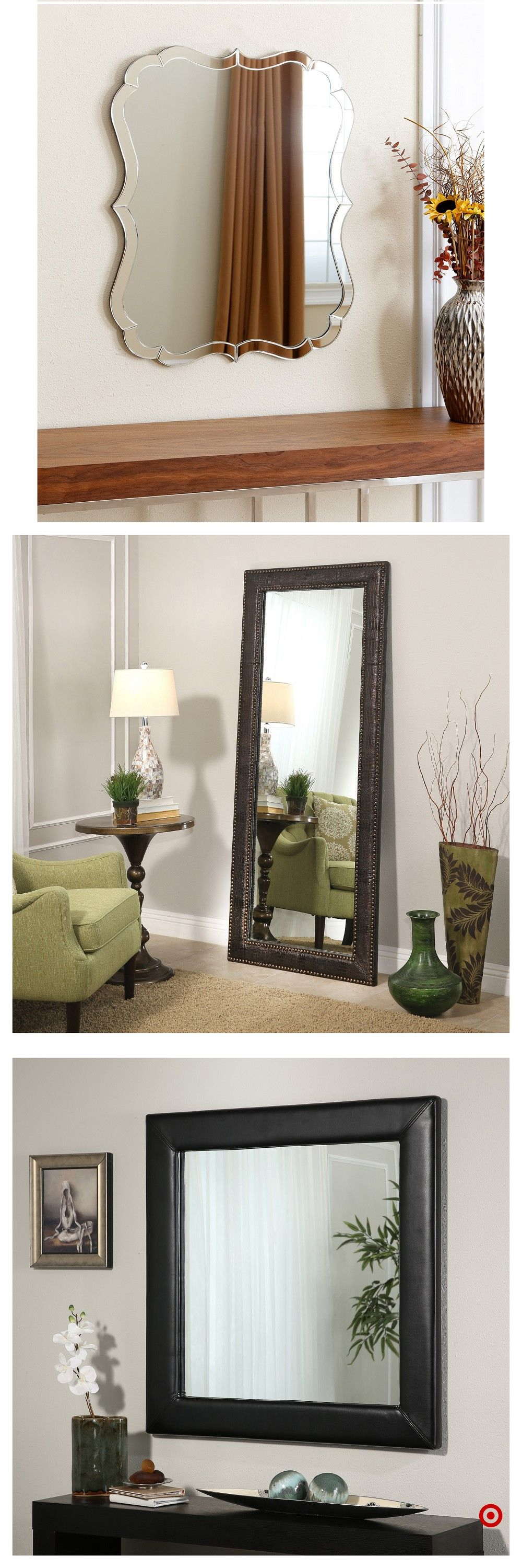 Shop Target For Decorative Wall Mirror You Will Love At Great Low Prices Free Shipping On Orders Of 35 Or Free Same Day P Decor Mirror Wall Decor Room Decor
