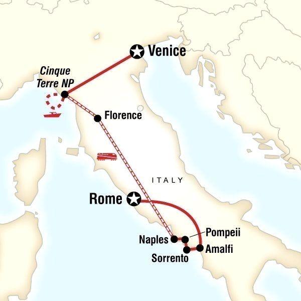italy itinerary builder #italyitinerary Italy Itinerary in 2018