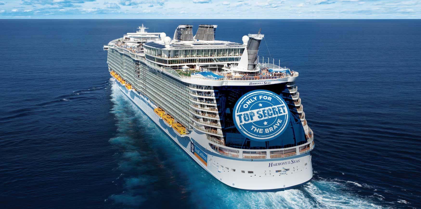 New Ship Harmony Of The Seas Royal Caribbean International