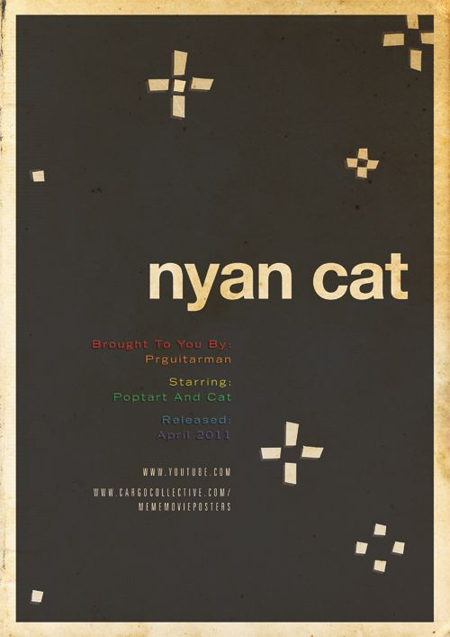 Gallery Minimalist Internet Meme Movie Posters Nyan Cat