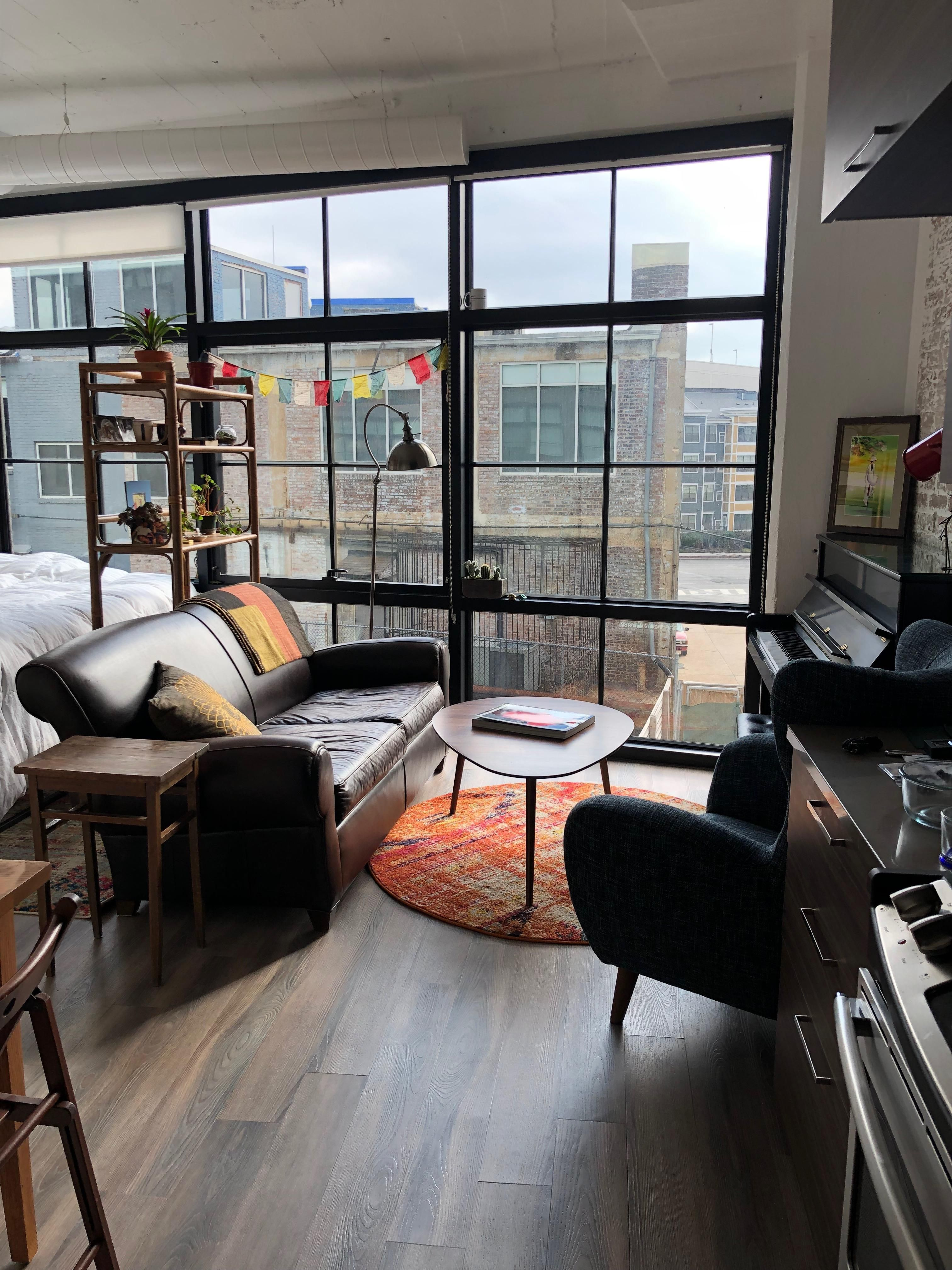 First Studio Apartment Studio apartment furniture