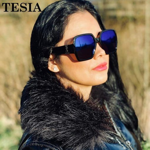 Vintage Square Sunglasses Women Luxury Brand Designer Transparent Glasses Mirror Coating Lenses Women's Sunglasses Lunettes #womenfashion #womenglasses #womenstyle #sunglasses
