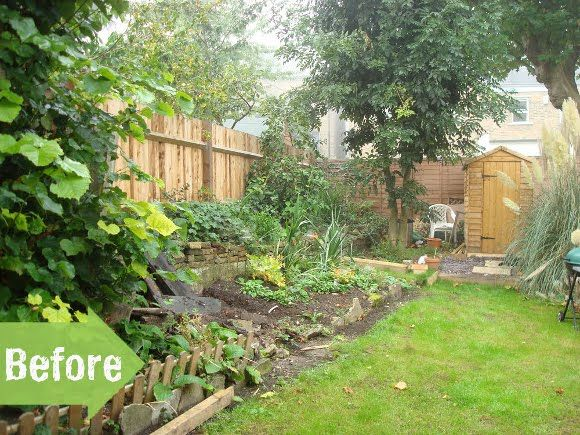 Before U0026 After: A Worn Down Slope Gets A Much Needed Repair | Garden  Makeover And Gardens