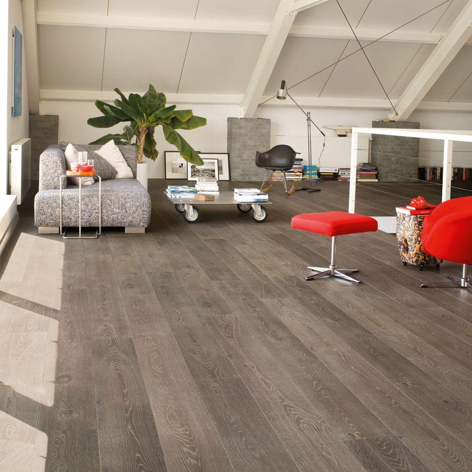 QuickStep Largo Grey Vintage Oak Plank Natural laminate