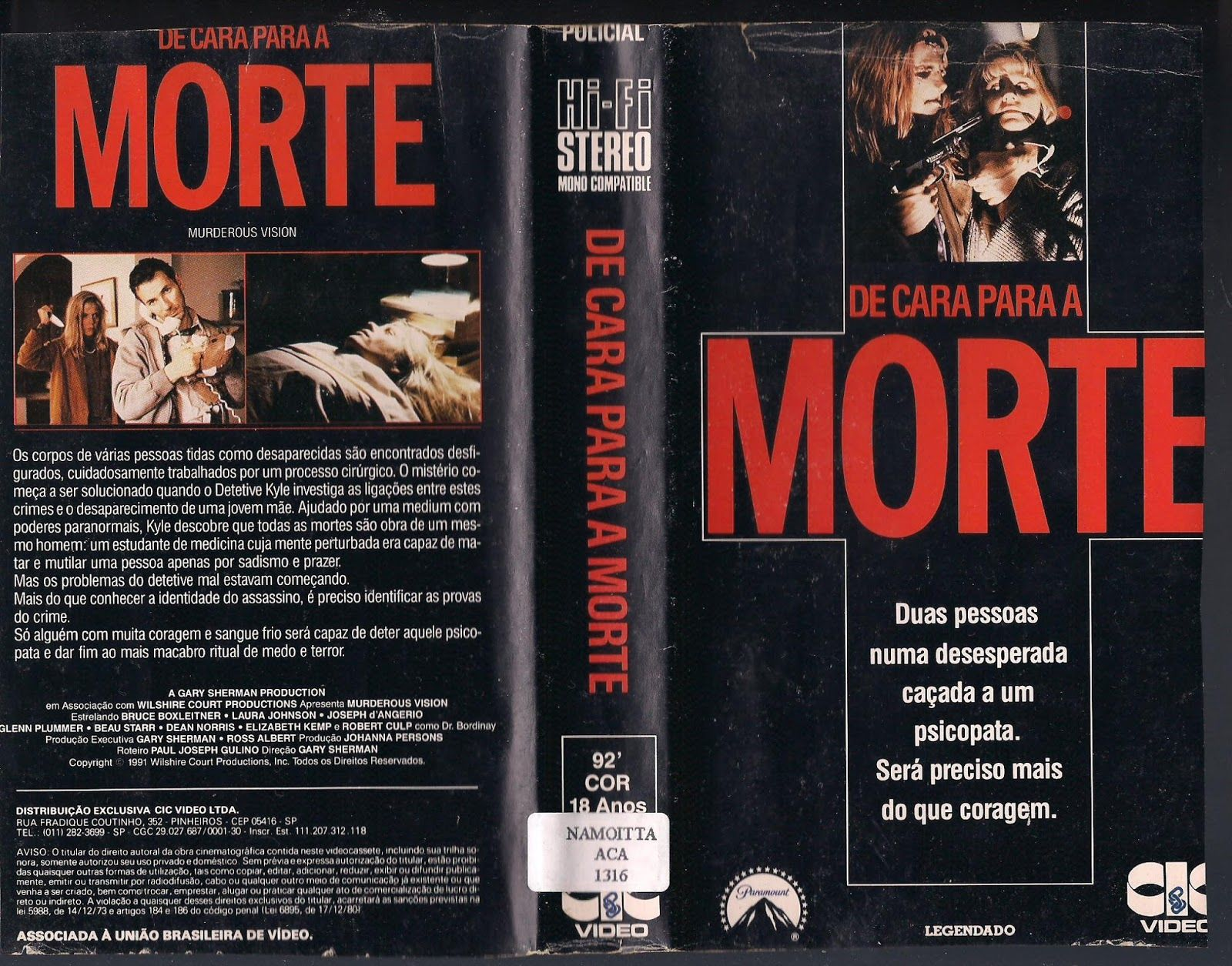 Pin By Andy Moreira On Vhs Suspense Thriller Book Cover