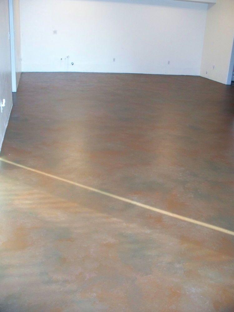 Paint Your Concrete Basement Floor