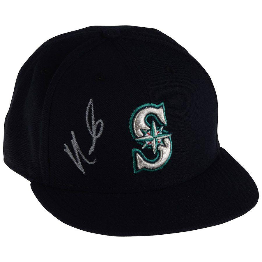 Autographed Seattle Mariners Nelson Cruz Fanatics Authentic New Era ... ad9e3ed88eb7