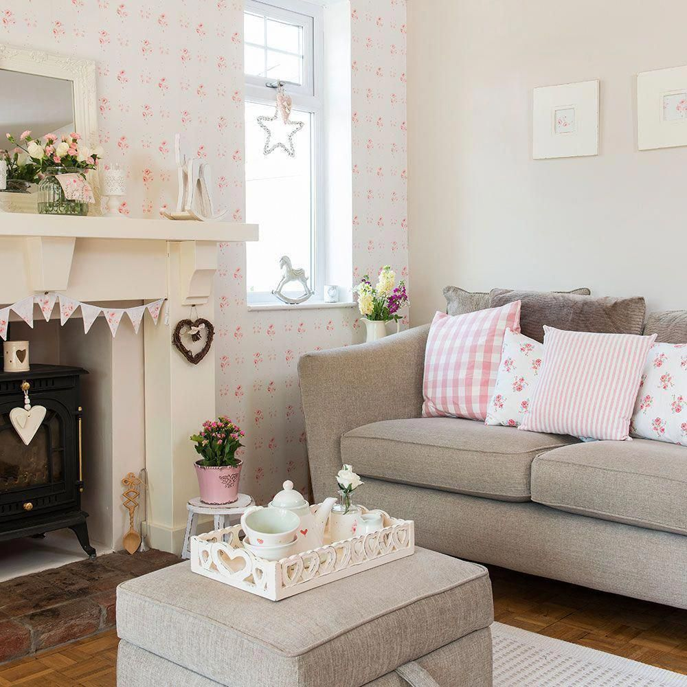 Astonishing Ideas Shabby Chic House Interior Modern Shabby