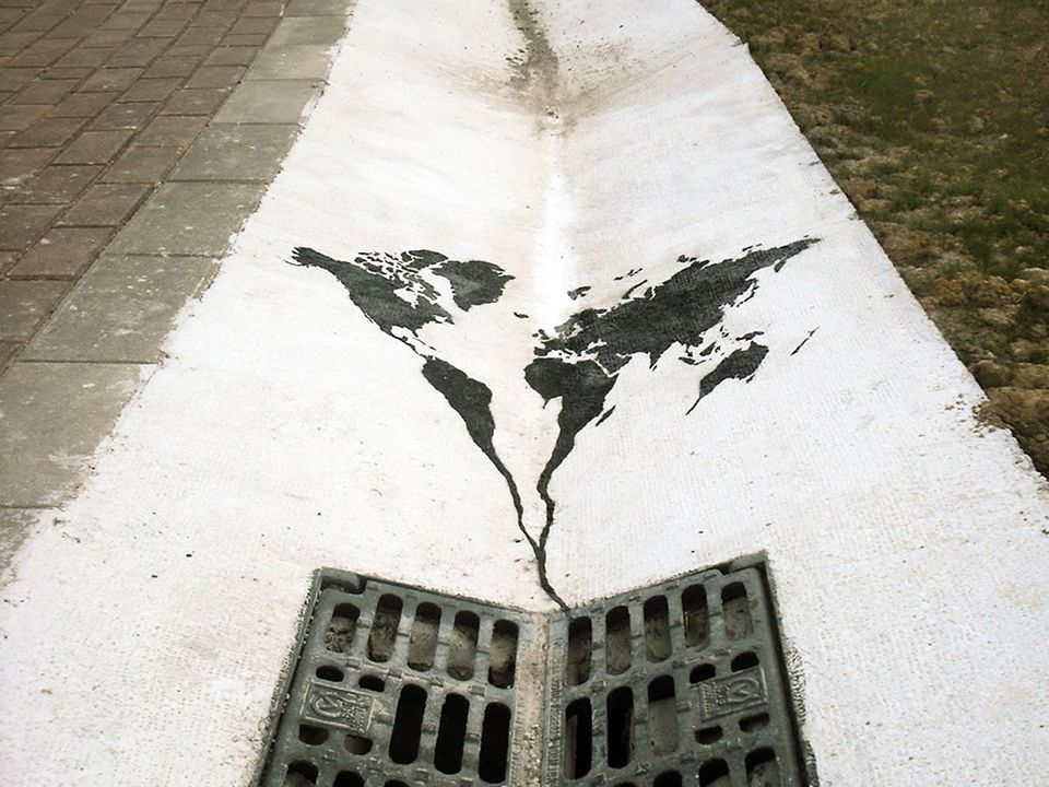28 Obras de arte urbano que interactúan de forma ingeniosa - Taringa!