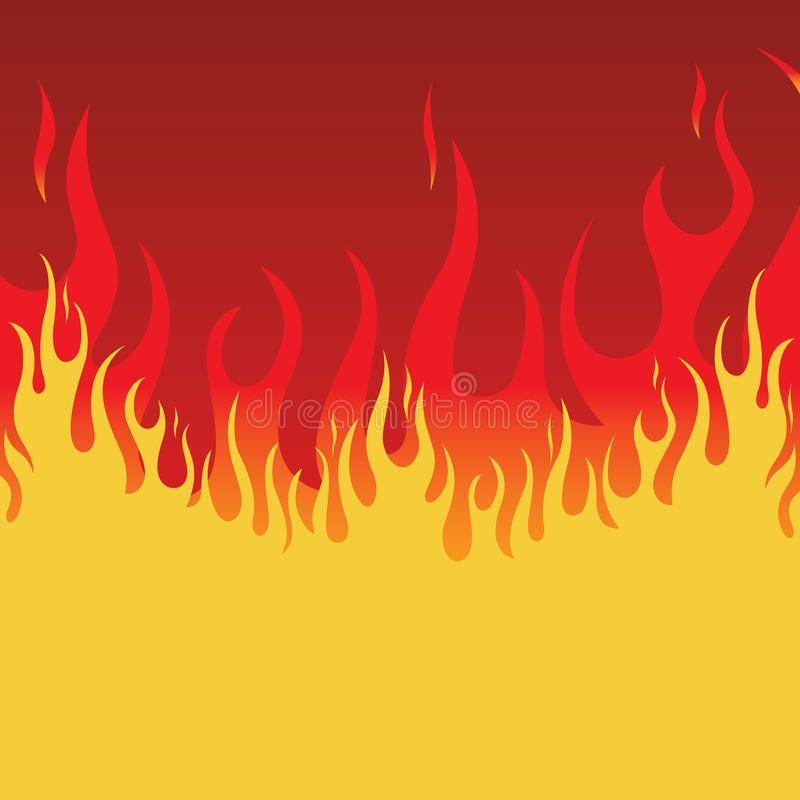 Fire Background Element for design vector illustration