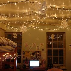 dorm room lighting. 11 Unexpected Ways To Decorate Your Dorm With Holiday Lights | Her Campus Room Lighting M