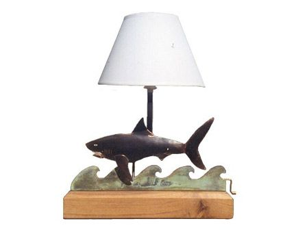 Shark Mechanical Table Lamp | Aqua Love aka SHARKS | Pinterest ...